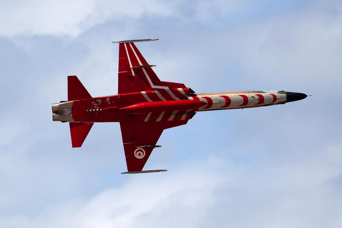 IADE F-5F Arnold ten Pas